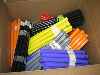 Color Capabilities for PVC Tubing