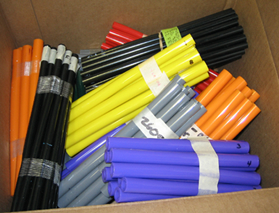 Box of Colored Tube